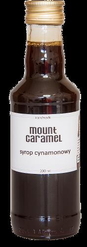 Mount Caramel syrop cynamon