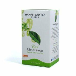 Herbata zielona z limonką saszetki 40g - Hampstead Cool Lime Green