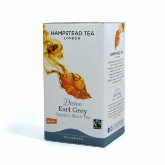 Herbata czarna z bergamotką, saszetki 40g - Hampstead Divine Earl Grey
