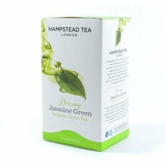 Herbata zielona jaśminowa, saszetki 40g - Hampstead Dreamy Green Jasmine
