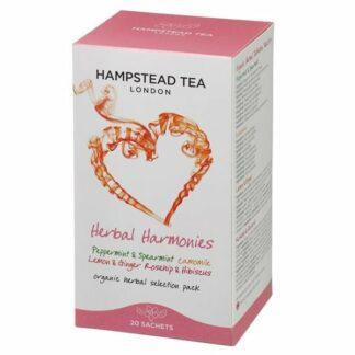 Zestaw herbat, saszetki 40g - Hampstead Herbal Selection