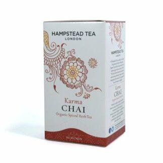 Herbata ziołowa z aromatycznymi przyprawami, saszetki 40g - Hampstead Karma Chai