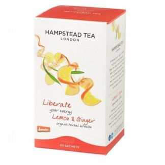 Herbata cytrynowo-imbirowa saszetki 30g hampstead Lemon Ginger